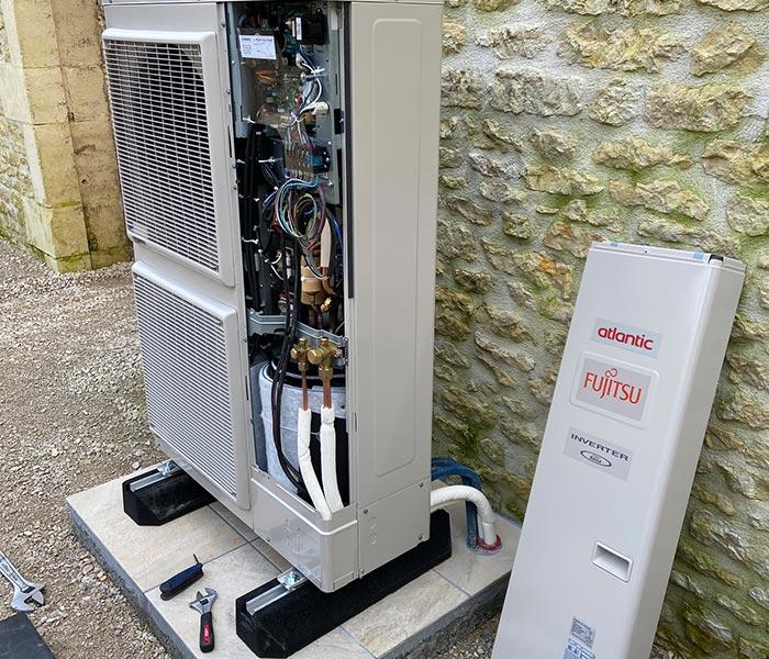 Installation de pompe à chaleur à Cognac | 3D Clim