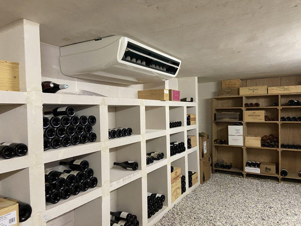 Climatiseur cave à vins Cognac